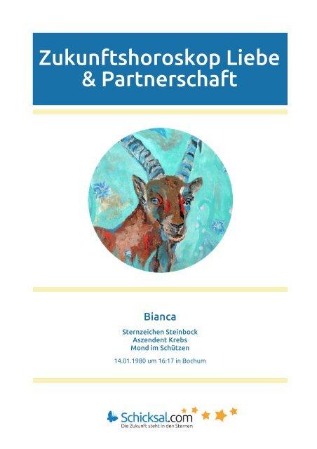 Steinbock Zukunftshoroskop Liebe Partnerschaft