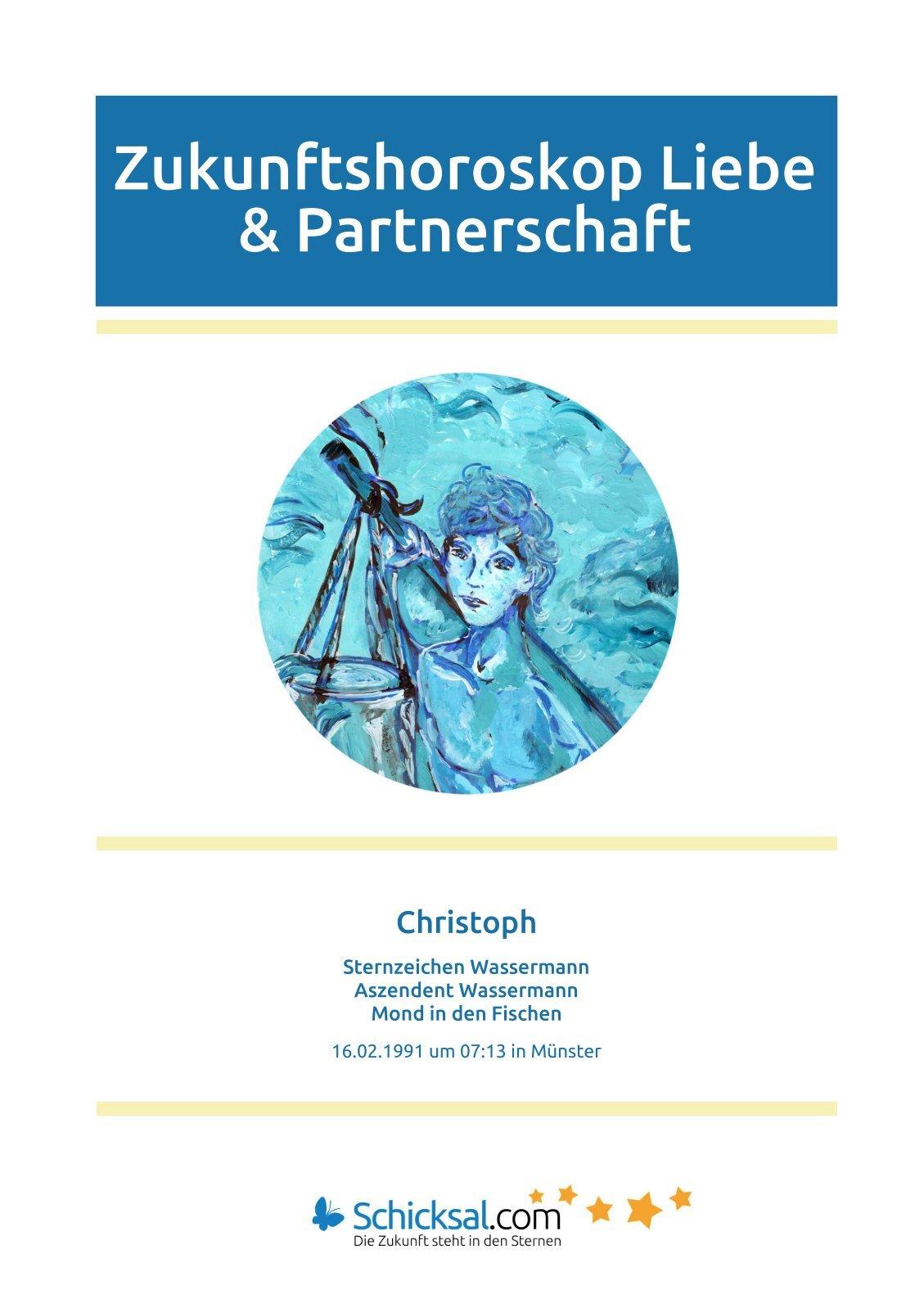 Wassermann Zukunftshoroskop Liebe und Partnerschaft