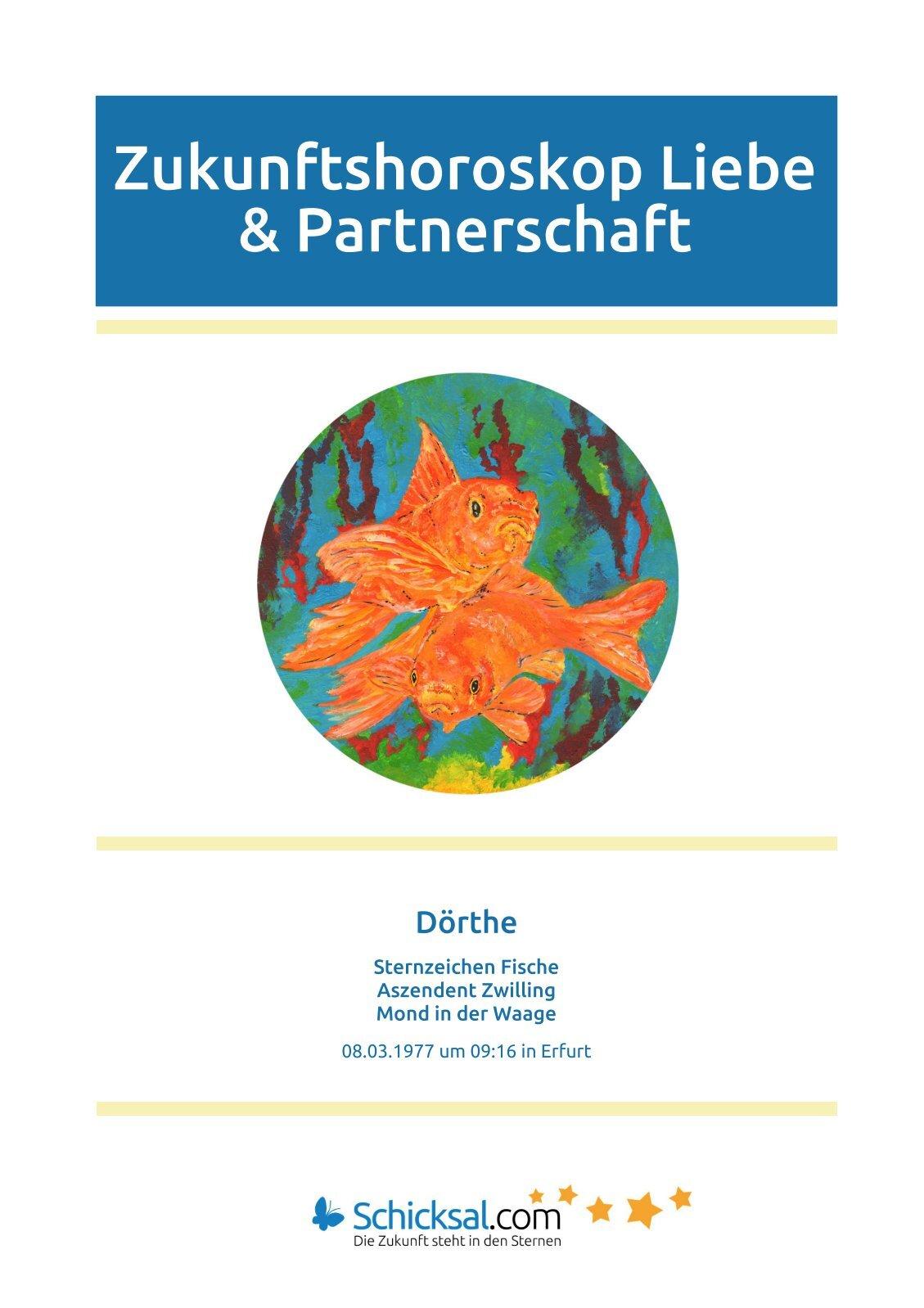 Fische Zukunftshoroskop Liebe und Partnerschaft