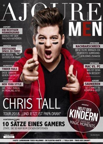 AJOURE´ Men Magazin Februar 2018