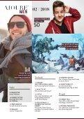 AJOURE´ Men Magazin Februar 2018 - Seite 4