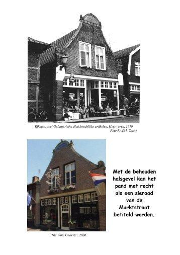 Erfgoed in de Marktstraat - Heemkunde Ootmarsum en Omstreken