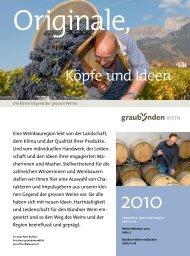 Köpfe und Ideen - Wein Fläsch