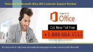 Microsoft office 365 Customer Care Number +1-888-664-3555 (2)