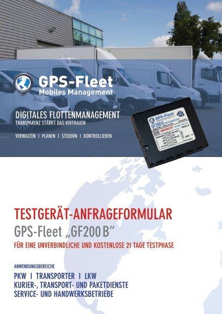 Testgeraetantrag GF200B