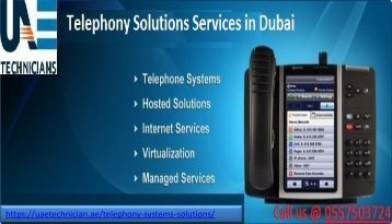Call us @ +971-557503724 for Telephony Solutions Services in Dubai