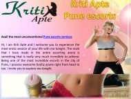 www.kritiapte.com/pune-call-girls-photos.html - Pune escorts services