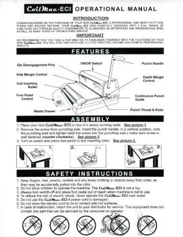 CoilMac-ECI Akiles Coil Binding Machine - Printfinish.com