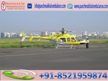 Panchmukhi ICU Air Ambulance Service in Kolkata