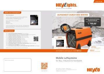 Heylo HEYLights 01.01. - 31.03.18