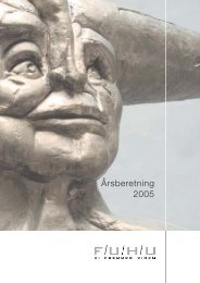 Årsberetning 2005 - FUHU