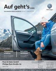Volkswagen Service Angebote