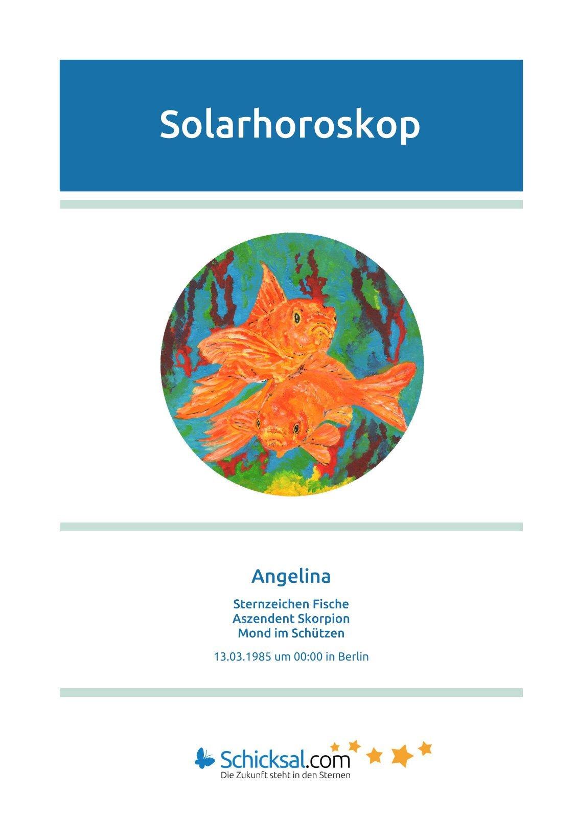 Fische Solarhoroskop