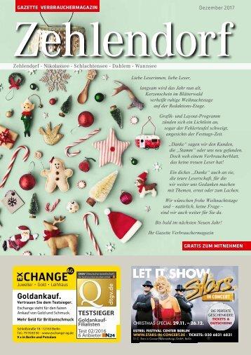 Gazette Zehlendorf Nr. 12/2017