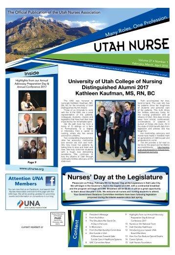 Utah Nurse - February 2018