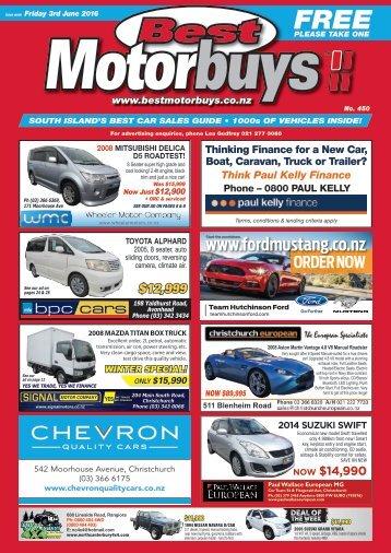 Best Motorbuys: June 03, 2016