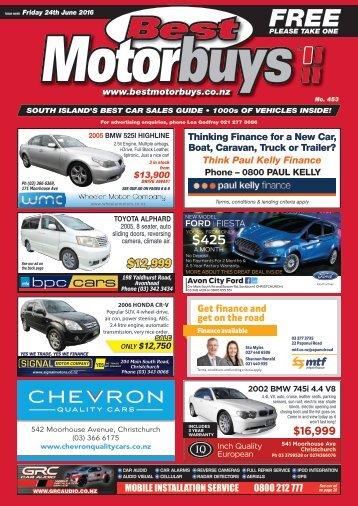 Best Motorbuys: June 24, 2016