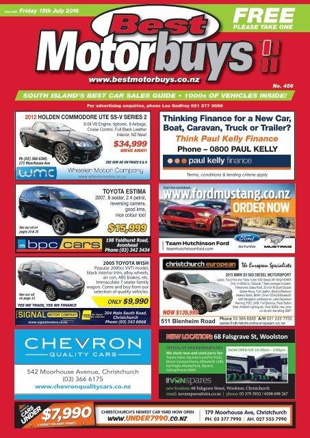 Best Motorbuys: July 15, 2016