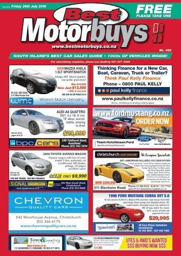 Best Motorbuys: July 29, 2016