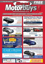 Best Motorbuys: August 26, 2016