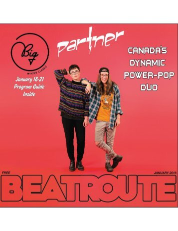 BeatRoute Magazine AB print e-edition - [January 2018]