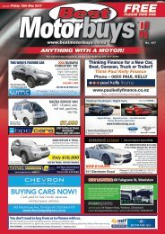 Best Motorbuys: May 12, 2017