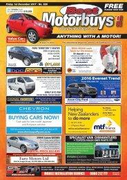 Best Motorbuys: December 01, 2017