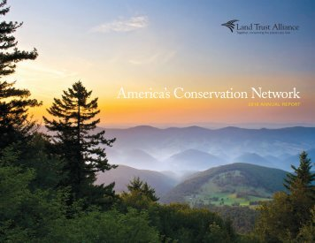 America's Conservation Network - Land Trust Alliance