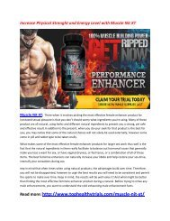 Boost Your Sex Drive and Libido with Muscle Nit XT
