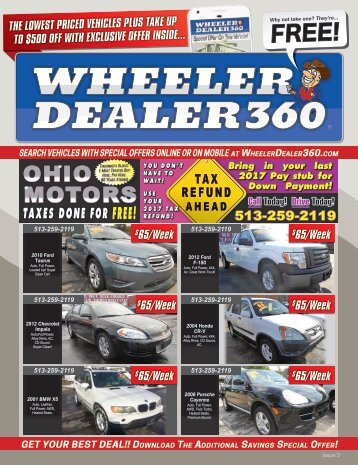 Wheeler Dealer 360 Issue 3, 2018