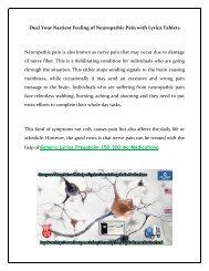Buy Lyrica Online Generic Pregabalin 150 300 mg Medication in USA UK at BestGenericDrug24