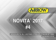 Arrow - Nuovi prodotti Gennaio 2018