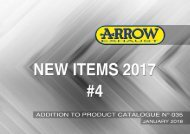Arrow - New Items January 2018