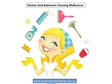 Kitchen And Bathroom Cleaning Melbourne