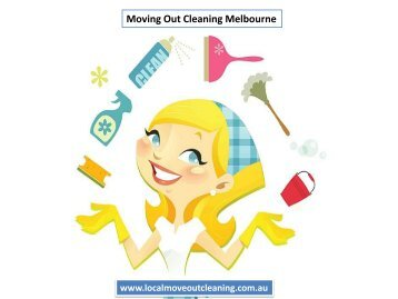 Moving Out Cleaning Melbourne