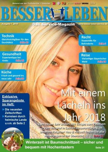 Besser Leben Service Magazin Januar_2018