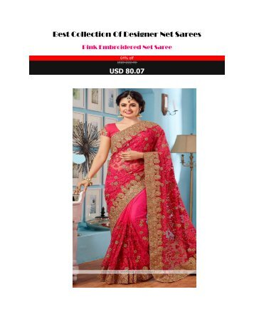 Best_Collection_Of_Designer_Net_Sarees