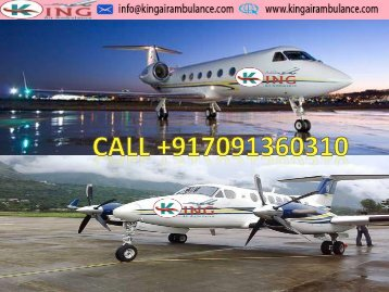 King Air Ambulance Services from Bokaro to Vellore