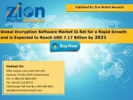 Global Encryption Software Market, 2015–2021