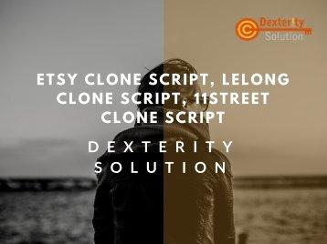 Etsy clone Script, Lelong Clone Script, 11street Clone Script