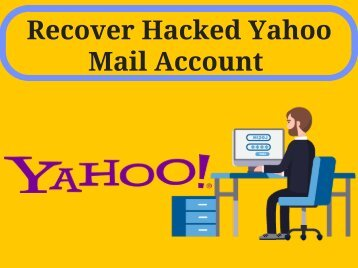 How to Recover Hacked Yahoo Email Account