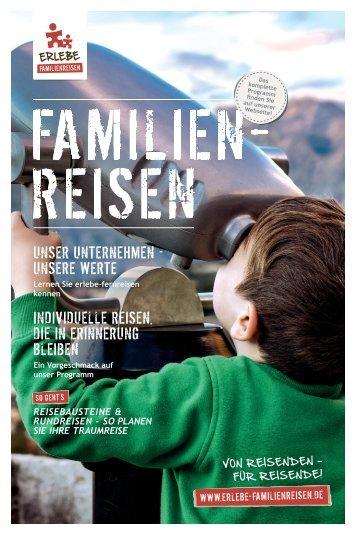 Online Katalog 2018: FAMILIENREISEN
