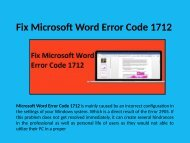 Microsoft Word Error Code 1712 Call 1-888-909-0535 Help Number