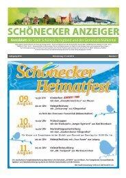 Schönecker Anzeiger Juli 2014