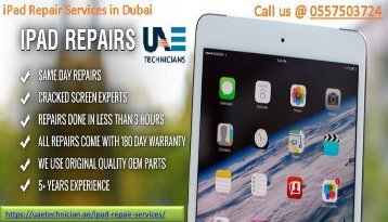 +971-557503724 Computer iPad Repair Services in Dubai