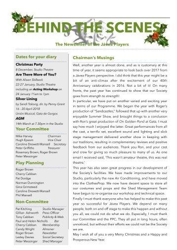 JP newsletter Dec 17