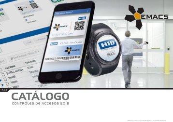 Catálogo de Control de Accesos 2018 - versión 4.6.1 (EUR – FOB Madrid)