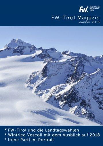 FW-Tirol Magazin Jänner 2018