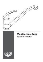 Montageanleitung - Franz Joseph Schütte GmbH