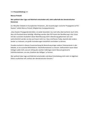 Pressemitteilung MP_Propaganda_EU